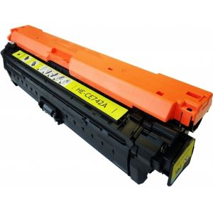 Toner HP CE742A (307A), žlutá (yellow), alternativní