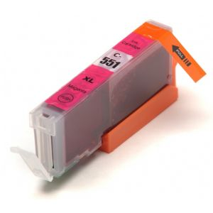 Cartridge Canon CLI-551M XL, purpurová (magenta), alternativní