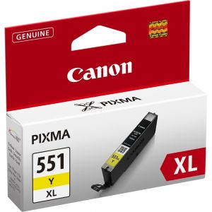 Cartridge Canon CLI-551Y XL, žlutá (yellow), originál