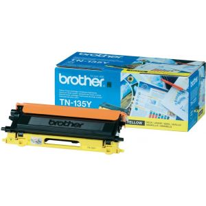 Toner Brother TN-135, žlutá (yellow), originál